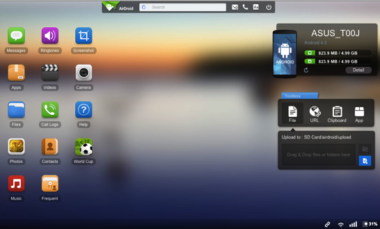Airdroid on mac 1